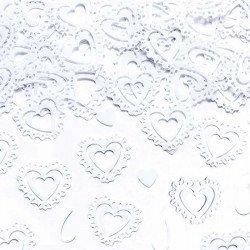 Coeurs de confettis