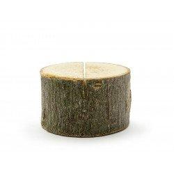 Rondins de bois marque-place (x6)