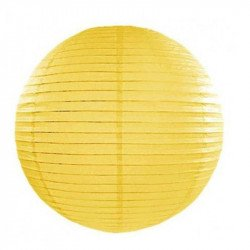Lampion en papier uni - 35 cm