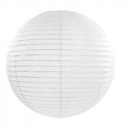 Lampion en papier uni - 50 cm