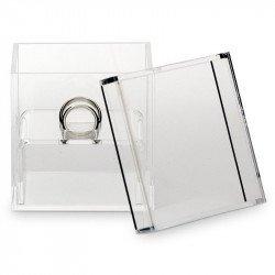 Boite à alliances acrylique transparente