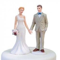 Figurine Les Mariés Vintage