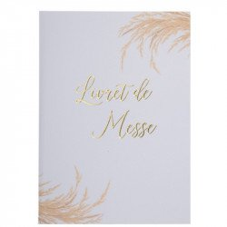 Livrets de Messe Jolie Pampa (x10)