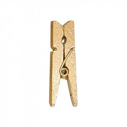 Pinces en bois métallisées (x24)