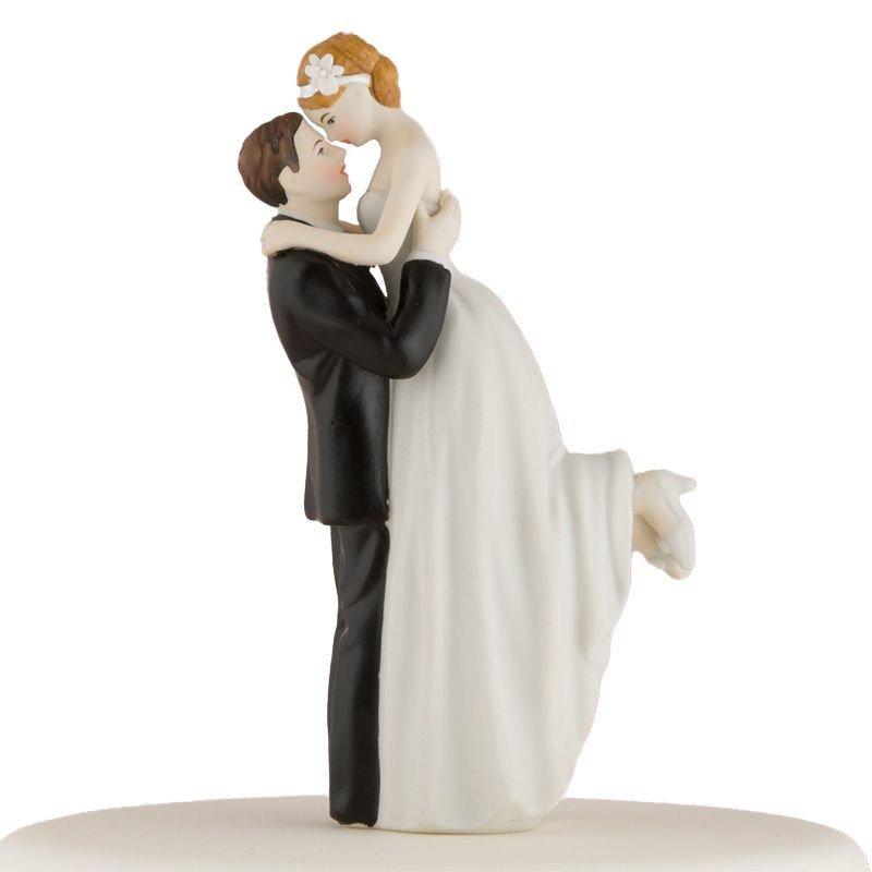 Figurine couple romance peau blanche