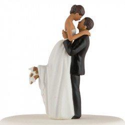 Figurine Le Couple Romance - peau mate
