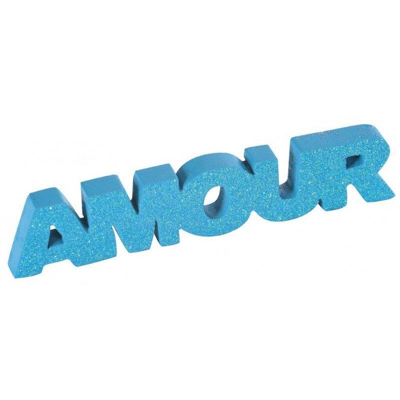 Mot Amour turquoise