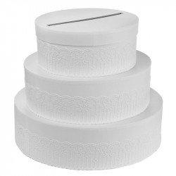 Urne tirelire gâteau - 26cm