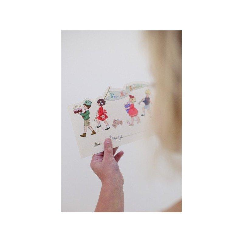 test altseoCartes Belle & Boo + enveloppes - 20 unitésDécoration anniversaire par thème
