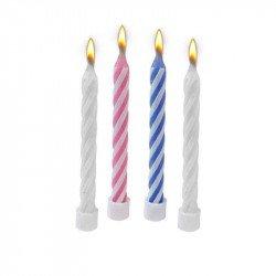 Bougies magiques 4 couleurs (x10)