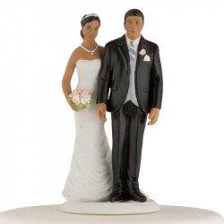 Figurine Couple de Mariés - Ethnique