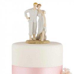 Figurine Couple sur le Sable