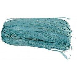Raphia naturel couleur - Turquoise