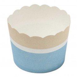 Cupcakes roses ou bleus (x25)