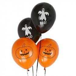 Ballons Halloween -8 unités