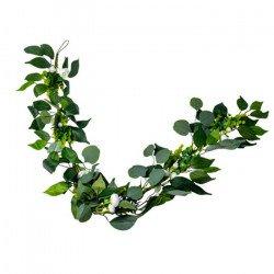 Guirlande Pivoines & Eucalyptus - 1,40M