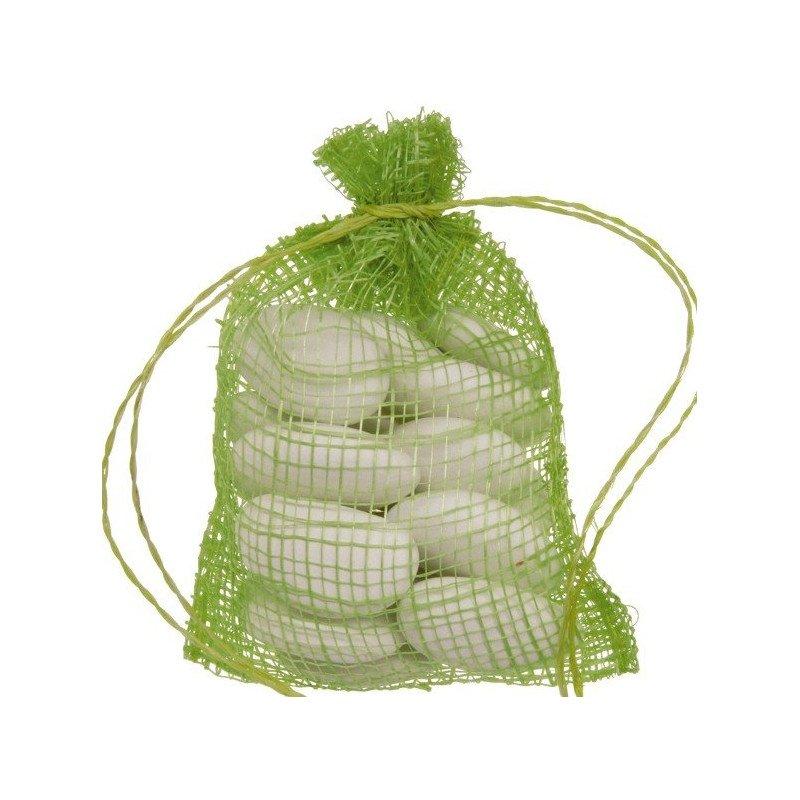 Sachet sinamay vert