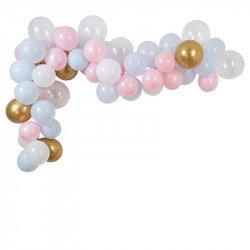 Guirlande de ballons Gender Reveal