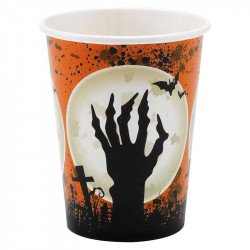 Gobelets Halloween Cimetière (x8)