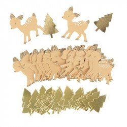 Confettis Petit Faon (x80)
