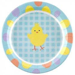 Assiettes Pâques (x8)