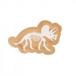Assiettes Dinosaure Kraft (x8)