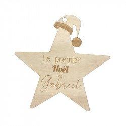 """Déco de sapin """"Premier Noël"""" à personnaliser"""