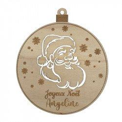 Boule Santa Claus à personnaliser