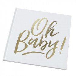 """Livre d'or """"Oh baby"""""""