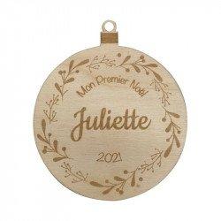 """Boule """"Mon Premier Noël"""" à personnaliser"""
