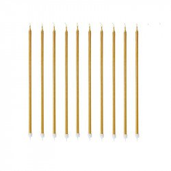 Bougies géantes - 15cm (x10)