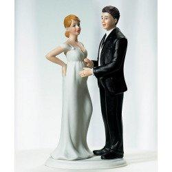 Figurine Mariée enceinte - à l'unité