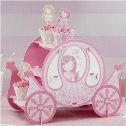 Support à gâteaux Princesse au Carrosse