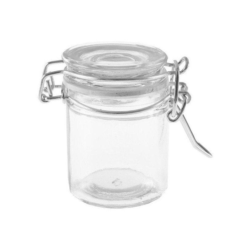 Petit pot en verre pour dragées