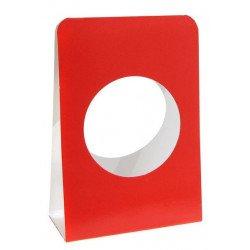Porte-dragées à boule (x6) - Rouge