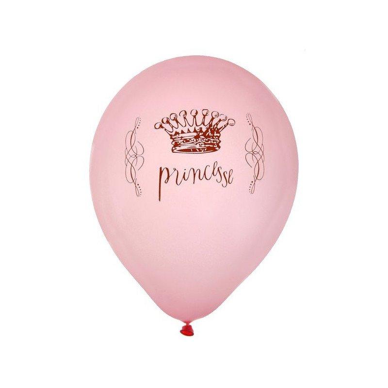 Ballons de princesse -8 unités