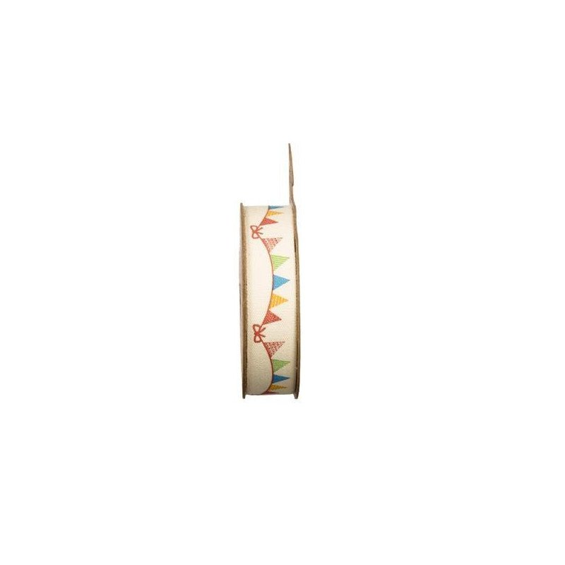 Ruban tissu adhésif guirlande fanions -2 mètres