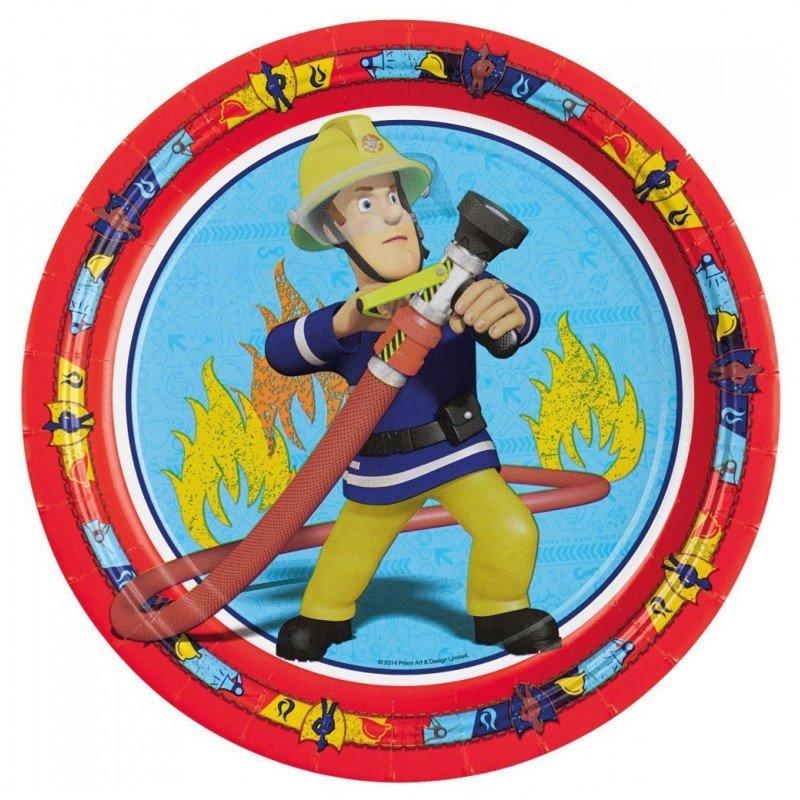 Assiette Sam le Pompier