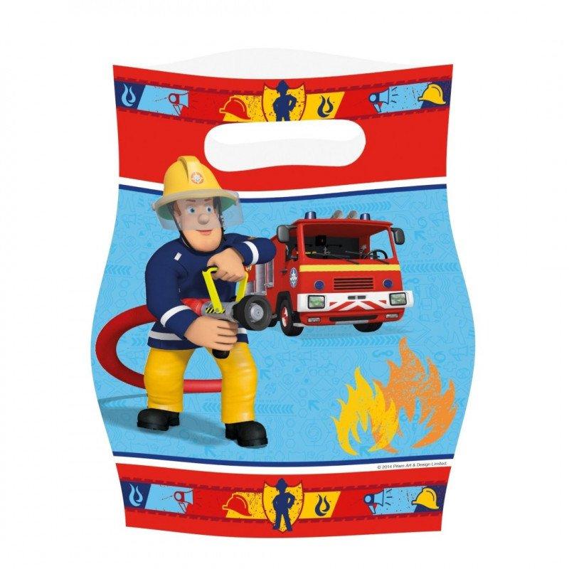Sac cadeau Sam le Pompier