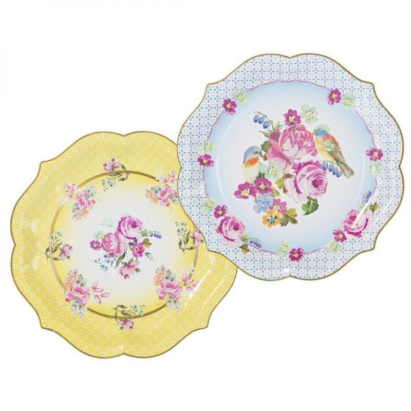 Plats fleuris - 4 unités