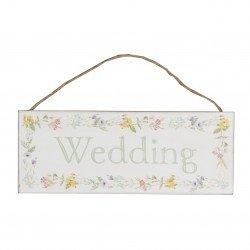 Panneau fleuri wedding - à l'unité