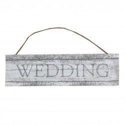 Panneau bois cérusé Wedding – à l'unité