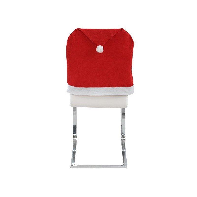 Housse de chaise bonnet de Noël