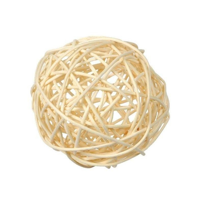 Assortiment boules Rotin
