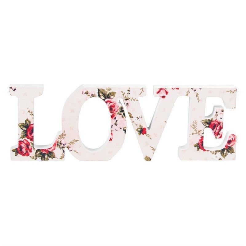 Mot Love fleuri bohême - à l'unité