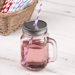 Mason Jar cocktail en verre