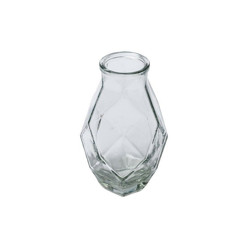 Vase origami verre