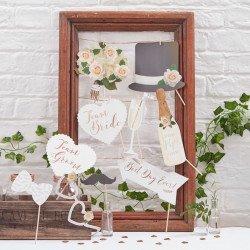 Kit photobooth botanic chic