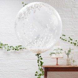 3 Ballons confettis XL
