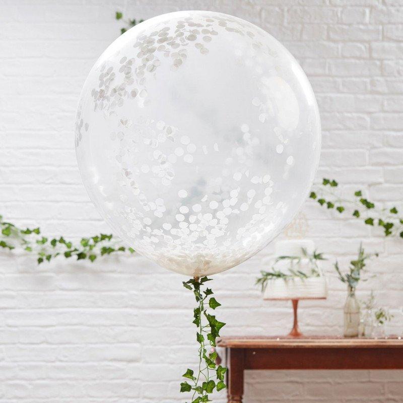 Ballons confettis XL